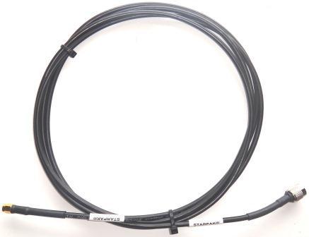 iridium STARPAK Cable, RG316 3.0m(118in), Gold SMA-Male