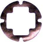 Iridium STARPAK 2GN Gasket, Neoprene, to protect sensitive painted surfaces