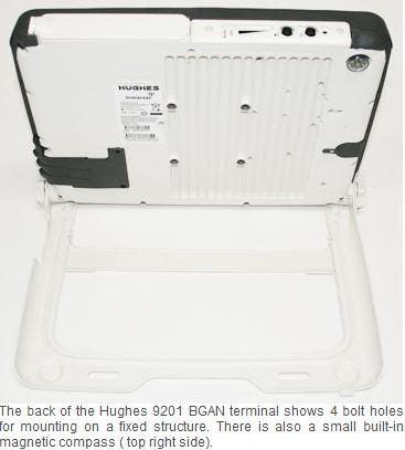 Hughes 9201 BGAN M2M Satellite Terminal