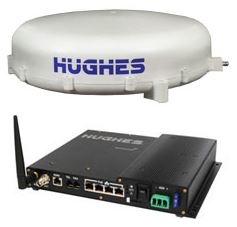 Hughes 9350 C10 BGAN Land Vehicle Satellite Terminal
