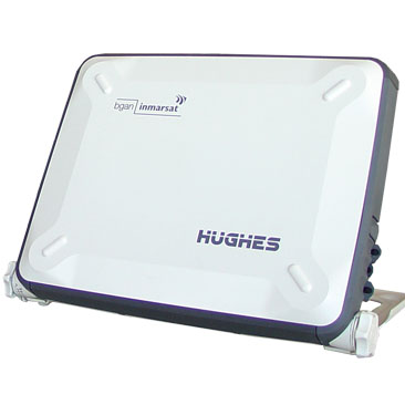 Hughes 9201 BGAN Portable Satellite Terminal