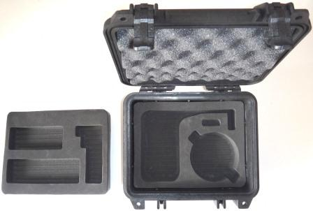 PEL1200-PRO-G7-B IsatPhone PRO Grab and Go Hard Case, for IsatPhone PRO, G7 Antenna and 2.4m cable kit, EXECUTIVE BLACK
