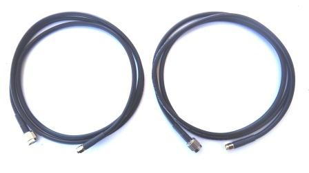 AT-1595-90-R-59-CBL Cable Kit, Inmarsat by Aero Antenna for IsatPhone PRO External Vehicular Antenna Kit, both cables are 1.5m(59in) in length maximum compatibility