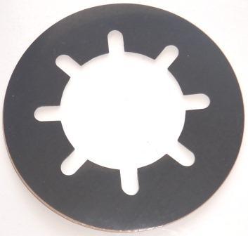 Iridium STARPAK Mount Gasket, Neoprene to protect sensitive painted surfaces