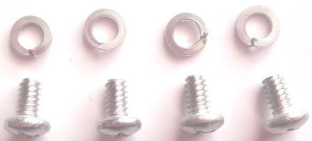 Iridium STARPAK Bolt and Spring Washer Set, 6-32 x 1/4in