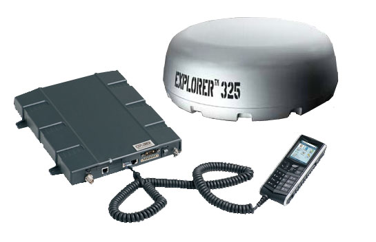 Cobham Explorer 325 In-motion BGAN Satellite Terminal