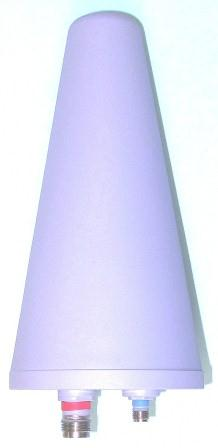 Iridium STARPAK BIN-XTS Dual Mode Ruggedized Helix Antenna, Flat Bracket Mount