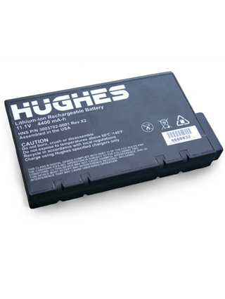 Hughes 9201 BGAN Battery, Standard Pack 4400mAh Li-on