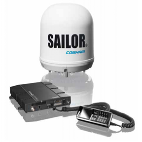 Cobham SAILOR Fleet One Satellite Terminal
