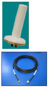 IRIDIUM Pivotel Mini Stick Helix Dual Mode antenna with 6.0m(19.6ft) cable kit