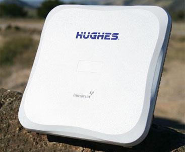 Hughes 9202 BGAN Portable Satellite Terminal