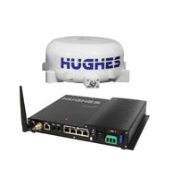 Hughes 9450 C11 BGAN Land Vehicle Satellite Terminal