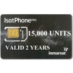 IsatPhone 2, PRO, Link PREPAID 15000 unit SIM CARD, 360 day validity