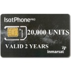 IsatPhone 2, PRO, Link PREPAID 20000 unit SIM CARD, 360 day validity