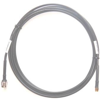 Iridium STARPAK Cable, LMR195UF 4.5m(177in), Gold SMA-Male and TNC-Male