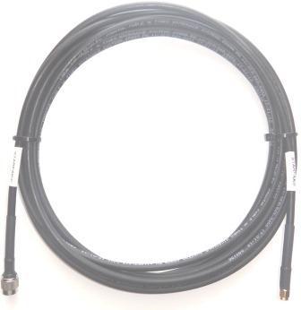 Iridium STARPAK Cable, LMR240UF 6.0m(236in), Gold SMA-Male and TNC-Male