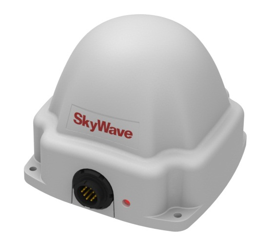 Skywave IDP-690 Satellite Terminal, with side-entry cable port