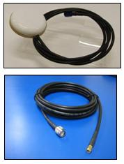 IRIDIUM Pivotel patch antenna, magnetic 6.0m(19.6ft) cable kit, TNC-Male