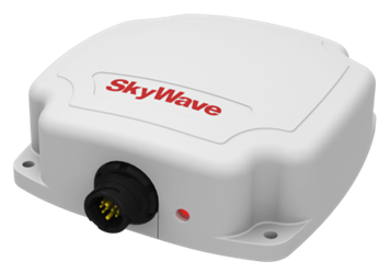 Skywave IDP-680 Satellite Terminal, with side-entry cable port, crimp w/out back shell