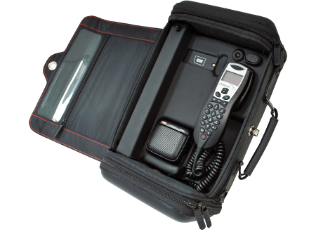 Iridium Beam RapidSAT LBT Portable Bag Phone