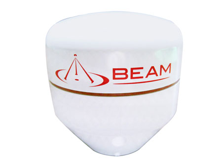 Beam RST700 GPS Antenna, Low Profile, Threaded Pipe Fixed Mount