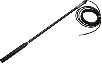 61RIR16LL-P-216SF-4 Dual Band Antenna, THURAYA/Globalstar-Tx by ANTCOM, Helix High Gain Bull Bar Whip Antenna with 5.5m(18ft) cable tail, SMA-F Connector