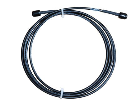 Iridium STARPAK Cable, LMR195UF 3.0m(118in), Gold SMA-Male