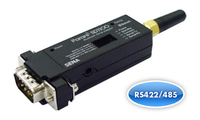 SENA Parani SD1100 Bluetooth Class 1 RS422-485 Serial Adaptor, with Wall A/C for AU, NZ