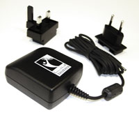 THURAYA SG2520, SO2510 AC Charger KIT, with Wall Plug adaptors for AU, EU, UK