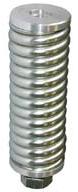 iridium STARPAK Antenna Spring Mount, 1/2in-12 BSW thread, 107x37diax107mm, Heavy Duty