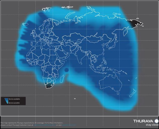 Thuraya IP Active Portable Antenna