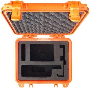 Iridium 9555 Grab and Go Hard Case, Safety Orange
