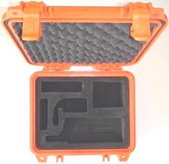 Iridium 9575 Grab and Go Hard Case, Safety Orange