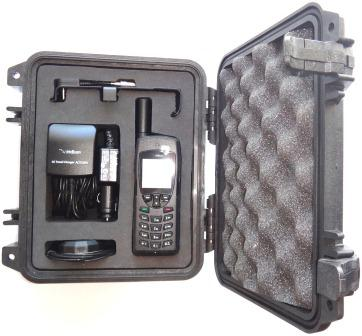 Iridium 9555 Satellite Telephone Grab and Go Bunde Pack, Black