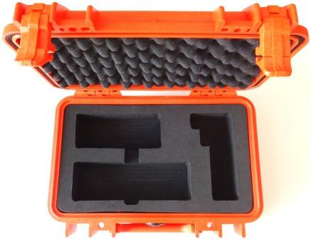 Iridium 9555 Grab and Go Hard Case, Safety Orange