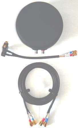 STARPAK IsatPhone 2, PRO Magnetic Antenna with 2.4m(95in) cable kit