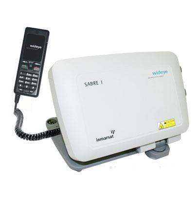 Wideye Sabre 1 Portable BGAN Terminal